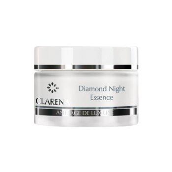 Clarena Anti Age De Lux Line, krem do twarzy, diamentowa esencja, na noc, 50ml