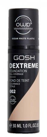 Gosh Dextreme, podkład o pełnym kryciu, 002 Ivory, 30ml