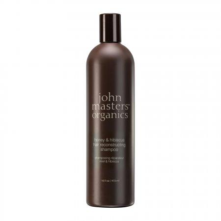John Masters Organics, Miód & Hibiskus, szampon regenerujący, 473ml