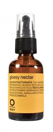 OWay Glossy Nectar, olejek odbudowujący włosy, 30ml