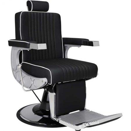 Fotel barberski Ayala Carlos - dostępny w 48h