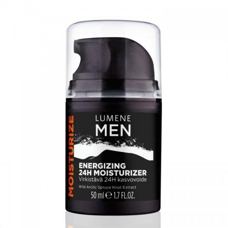 Lumene Men, energetyzujący krem do twarzy 24h, 50ml