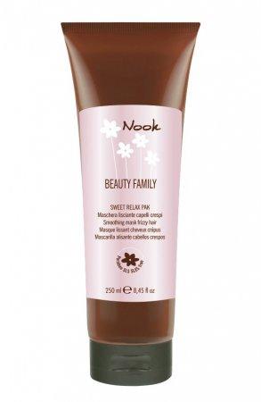 Nook Sweet Relax, maska wygładzająca dla niesfornych włosów, 250ml