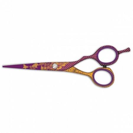 """JaguART III Secret, kolorowe nożyczki fryzjerskie, 5.0"""", 5.5"""""""