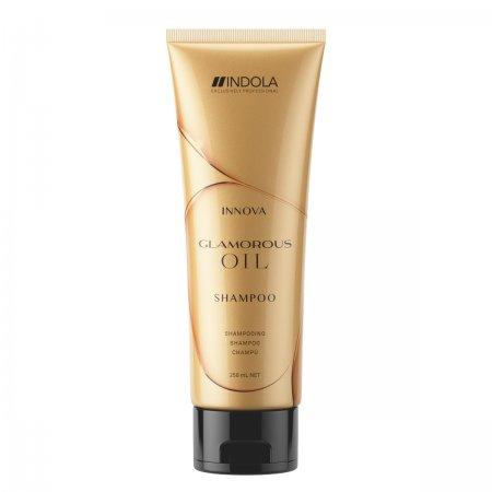 Indola Glamorous Oil, szampon z olejkami dodający blasku, 1000ml