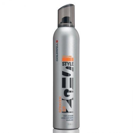 Goldwell StyleSign Texture Sprayer, mocny lakier do włosów, 500ml