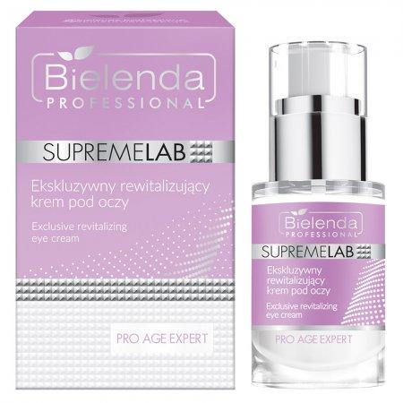 Bielenda Professional Supremelab, Pro Age Expert, rewitalizujący krem pod oczy, 15 ml