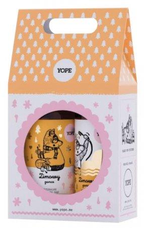 Yope, Zimowy Poncz, zestaw prezentowy, mydło 500ml + żel 400ml