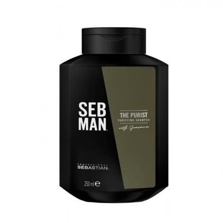 SEB MAN The Purist, szampon oczyszczający, 250ml