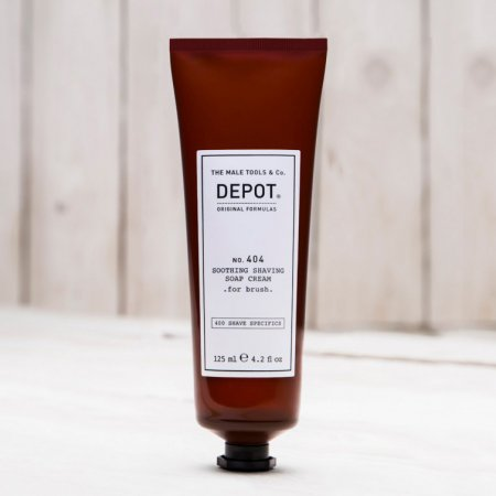 Depot No. 404, łagodzące mydło do golenia, 125ml