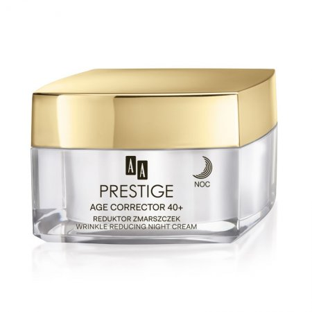 AA Prestige Age Corrector, ujędrniająco-napinajacy krem na noc, 40+, 50ml