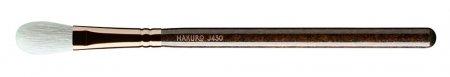 Hakuro J430, pędzel do pudru i rozświetlacza, ciemnobrązowy