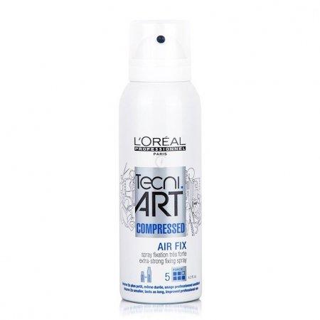 Loreal Tecni Art, Air Fix, super mocny spray do włosów, 125ml