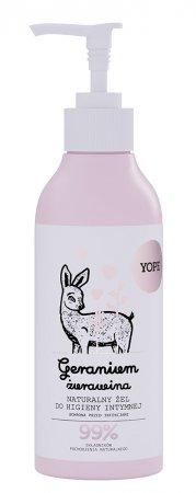 Yope, żel do higieny intymnej, Geranium i Żurawina, 300ml