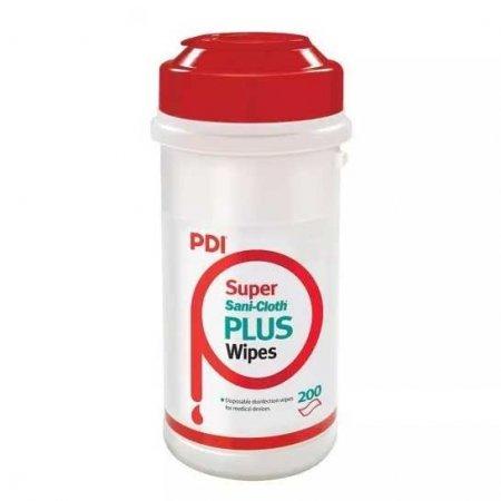 PDI Sani Cloth Plus, chusteczki do dezynfekcji małych powierzchni i sprzętu, 200szt.
