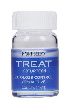 Montibello Treat Naturtech, koncentrat przeciw wypadaniu włosów Hair-Loss Cryoactive, 10x7ml