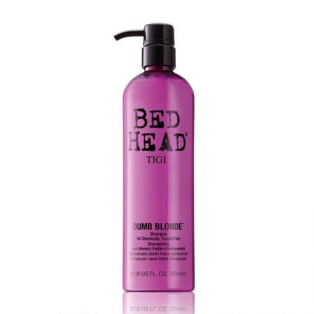 Tigi Bed Head Dumb Blonde, szampon dla blondynek, 750 ml