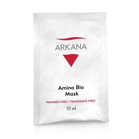 Arkana Amino Bio Mask, bioaktywna maska z aminokwasami, 10ml