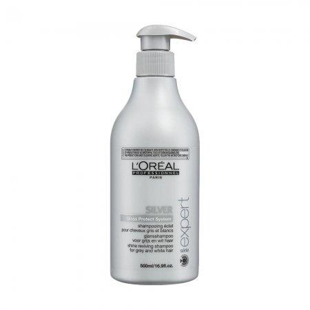 Loreal Silver, szampon do włosów mocno rozjaśnionych lub siwych, 500ml