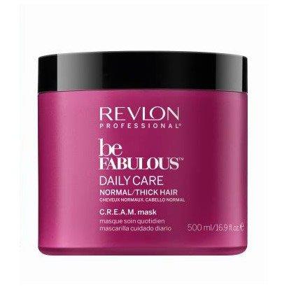 Revlon Be Fabulous, maska do włosów normalnych/grubych, 500ml