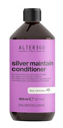 Alter Ego Silver Maintain, odżywka neutralizująca żółte odcienie, 950ml