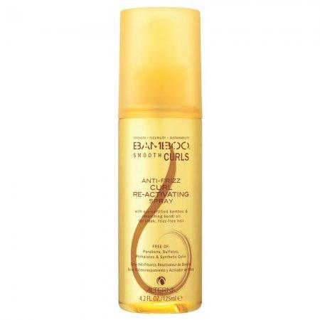 Alterna Bamboo Smooth, spray do loków przeciw puszeniu się włosów, 125ml