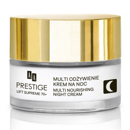 AA Prestige Lift Supreme, multi odżywczy krem na noc, 70+, 50ml