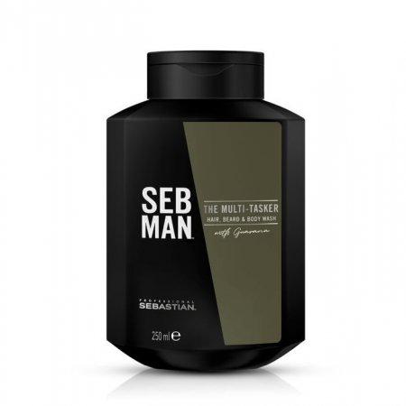 SEB MAN The Multitasker, szampon 3w1, 250ml