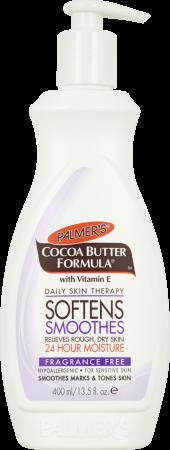 Palmers, odżywczy bezzapachowy balsam do pielęgnacji ciała z masłem kakaowym, 400ml