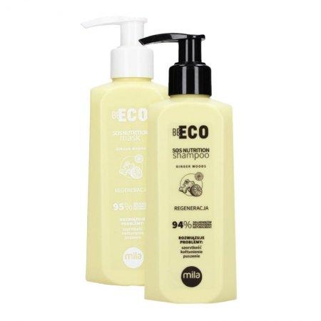 Mila Professional Be Eco SOS Nutrition, zestaw regenerujący, 250ml + 250ml