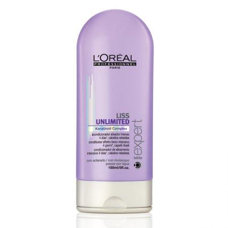 Loreal Liss Unlimited, odżywka wygładzająca, 150ml