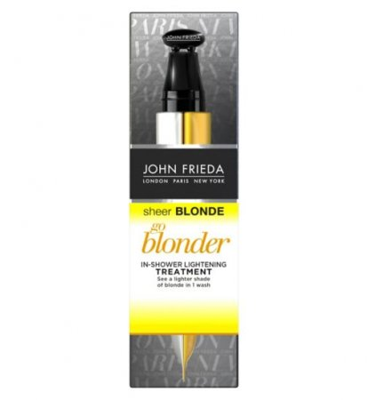 John Frieda Sheer Blonde, rozjaśniająca kuracja pod prysznic, 34ml