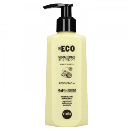 Mila Professional Be Eco SOS Nutrition, szampon regenerujący, 250ml
