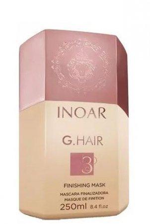 INOAR G-Hair, maska do zabiegu keratynowego prostowania, 250ml