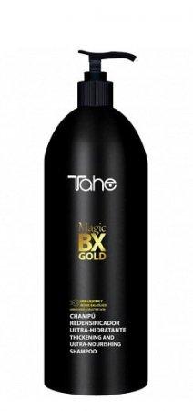 Tahe Magic Bx Gold, oczyszczająco-nawilżający szampon do zabiegu botoxu, 1000 ml