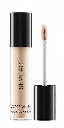 Semilac Makeup Zoom In, mocno kryjący korektor pod oczy, 02 Light