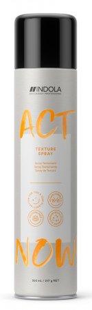 Indola Act Now!, wegański spray teksturyzujący, 300ml