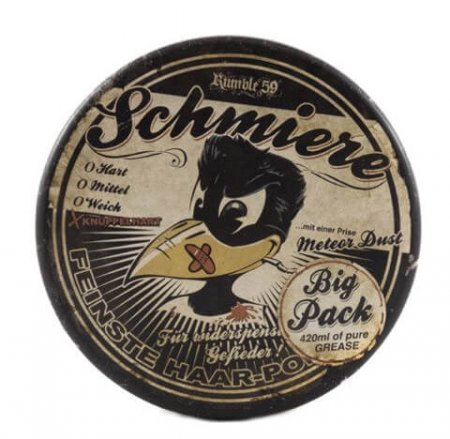 Schmiere Rock Hard Pomade, pomada do włosów, 420ml