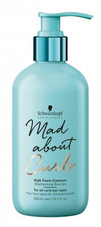 Schwarzkopf Mad About Curls, gęsta pianka oczyszczająca do loków, 300ml