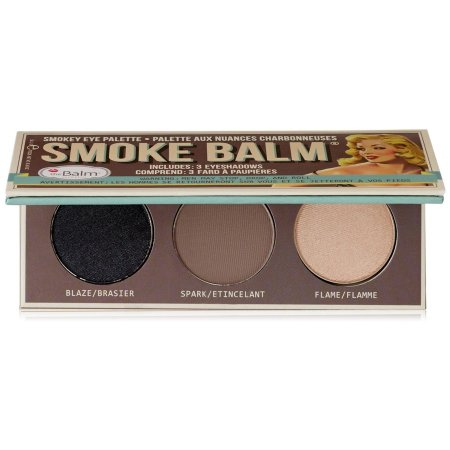 The Balm Smoke 1, Smokey Eye Palette, paleta 3 cieni do powiek, 10,2g
