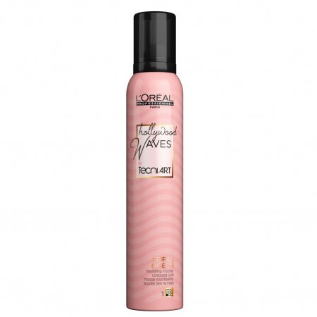 Loreal Tecni Art, Hollywood Waves, Spiral Queen, pielęgnująca pianka do loków, 200ml