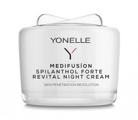 Yonelle Medifusion, krem rewitalizujący na noc ze spilantolem Forte, 55ml