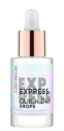 Catrice Express Quick Dry Drops, preparat przyspieszający wysychanie lakieru, 8ml