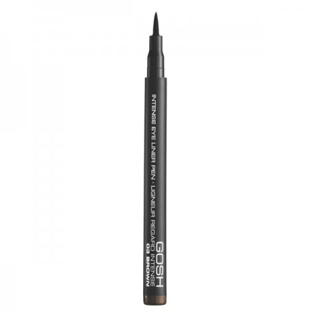 Gosh Intense Eye Liner Pen, intensywny eyeliner w pisaku, 1ml