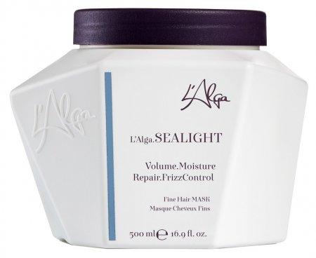 L`Alga Sealight, lekka maska regenerująca do włosów cienkich, 500ml