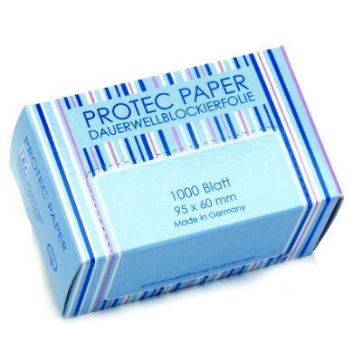 Efalock, Protec Paper, bibułki do trwałej 95x60mm, 1000 sztuk