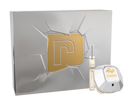 Paco Rabanne Lady Million Lucky, zestaw: EDP 80 ml + EDP 10 ml (W)