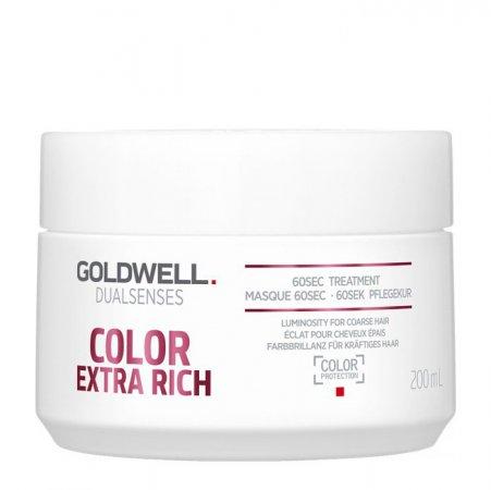 Goldwell Dualsenses Color Extra Rich, 60-sekundowa kuracja nabłyszczająca, 200ml