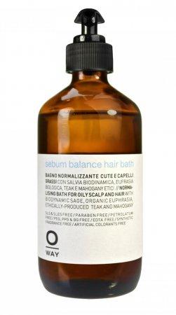 OWay Rebalancing, kąpiel do przetłuszczającej się skóry głowy i włosów, 240ml