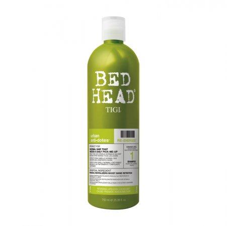 Tigi Bed Head Urban Anti+Dotes Re-energize, szampon do włosów normalnych, 750ml